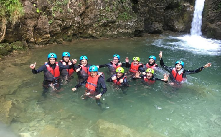 Canyoning Team Experience